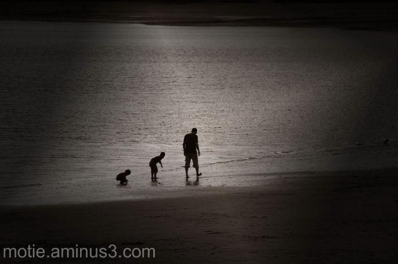 men beach