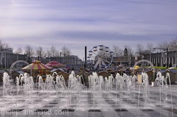 Brest fountains
