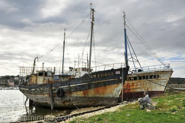 camaret boats bateaux paysages landscapes