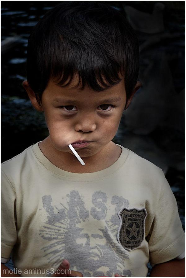 Don't steel my lollipop!