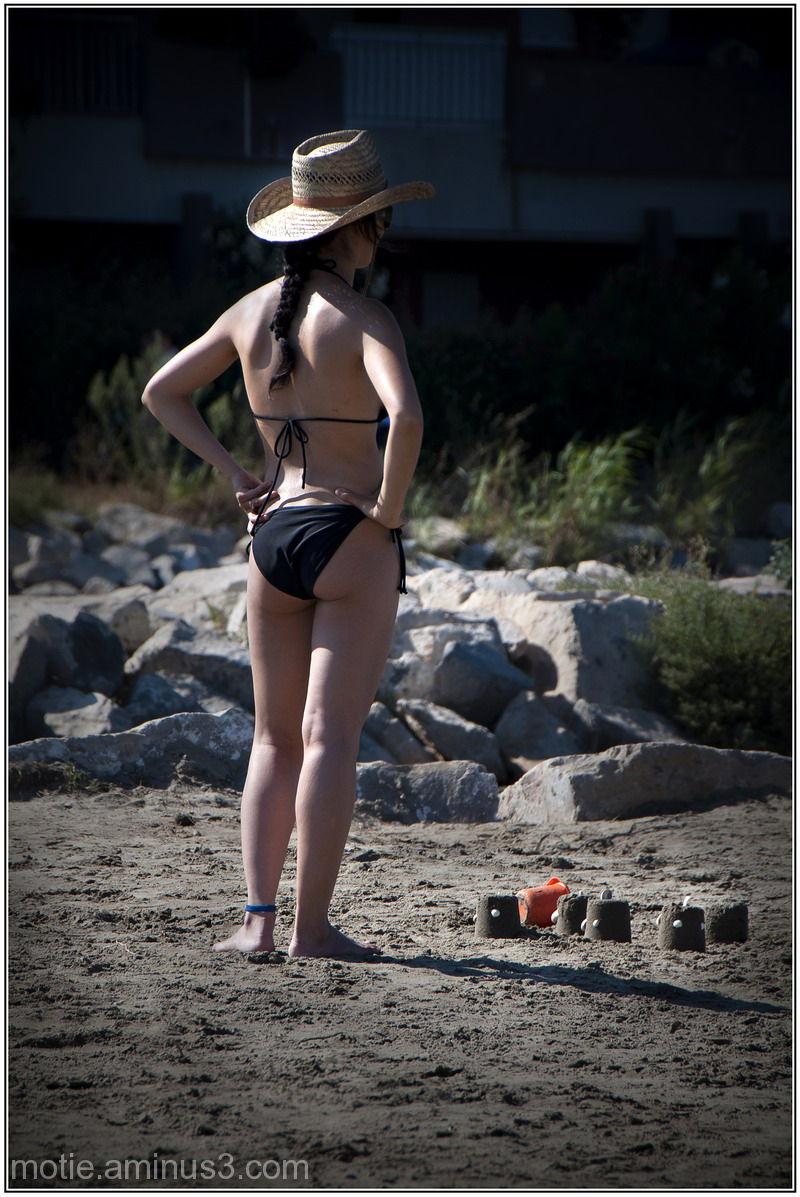Summer regrets, Ha.. les beaux pâtés de sable!