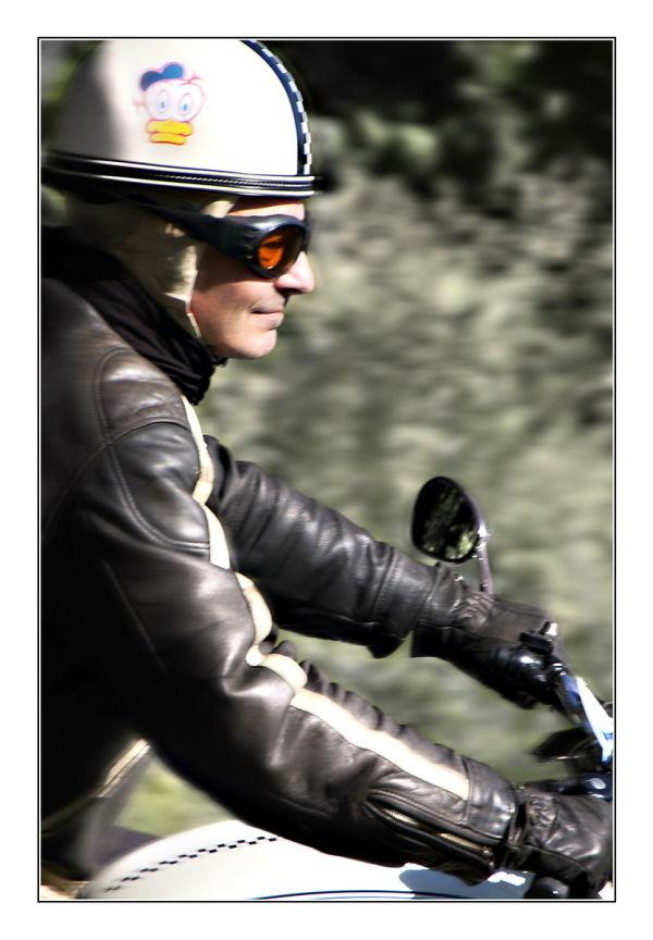 Face of biker (2)