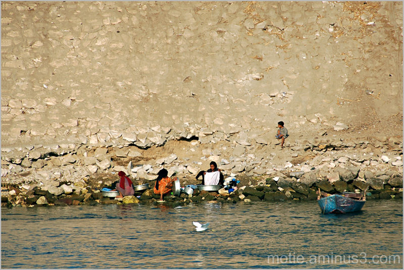 Life on the banks of the Nile...(2)