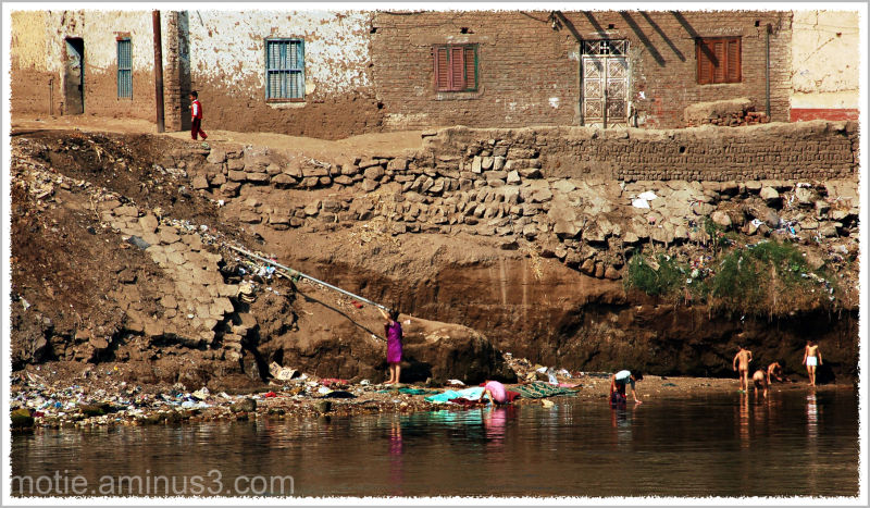 Life on the banks of the Nile...(3)