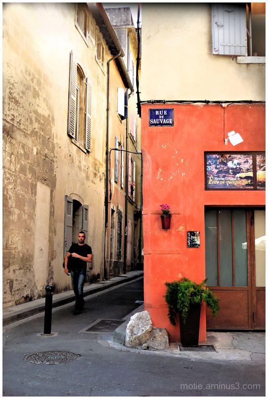 Rue du Sauvage  / street of the wild man.