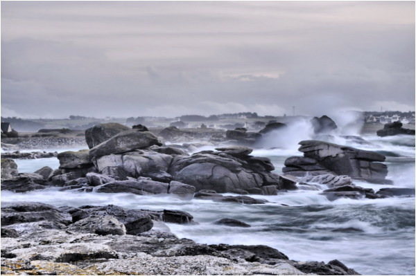 Storm Yesterday in Brittany.