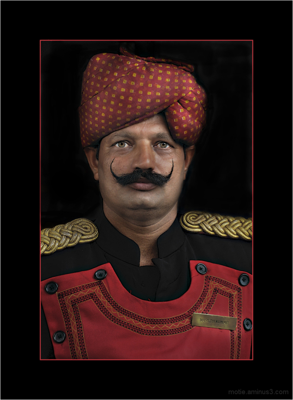 Naresh Kumar, The Doorman.