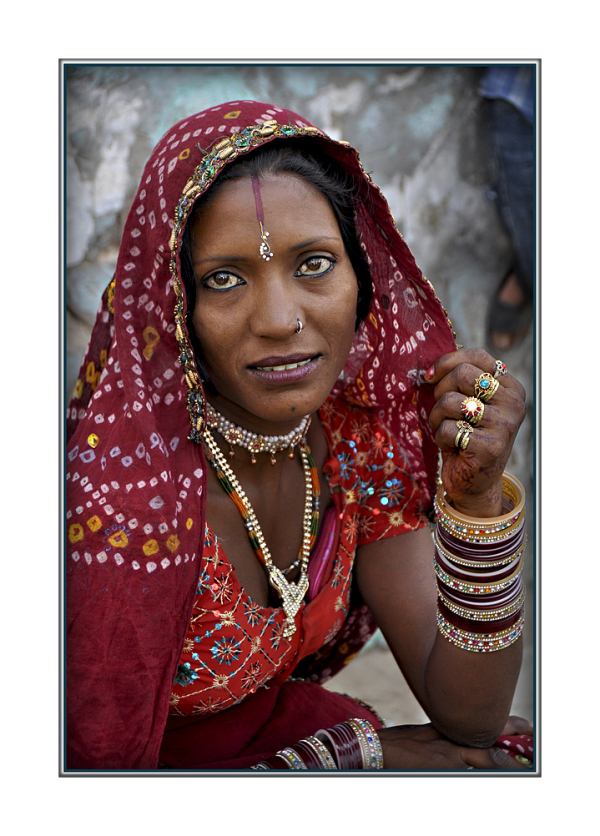 Woman of Rajasthan