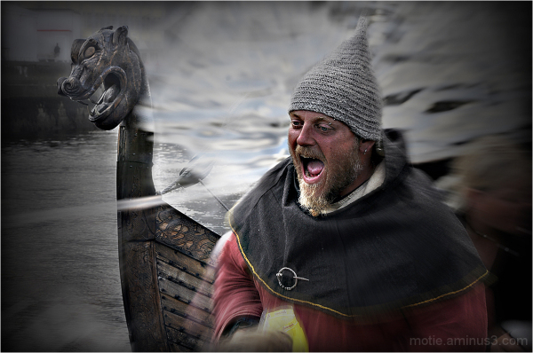 Viking and Drakkar