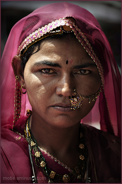 woman From Bikaner.