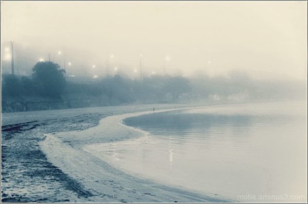 Mist on the beach