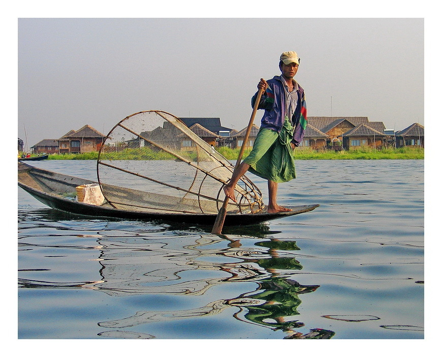 Fisherman In lake Inle.