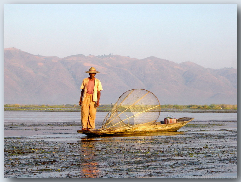 Fisherman In lake Inle. 2