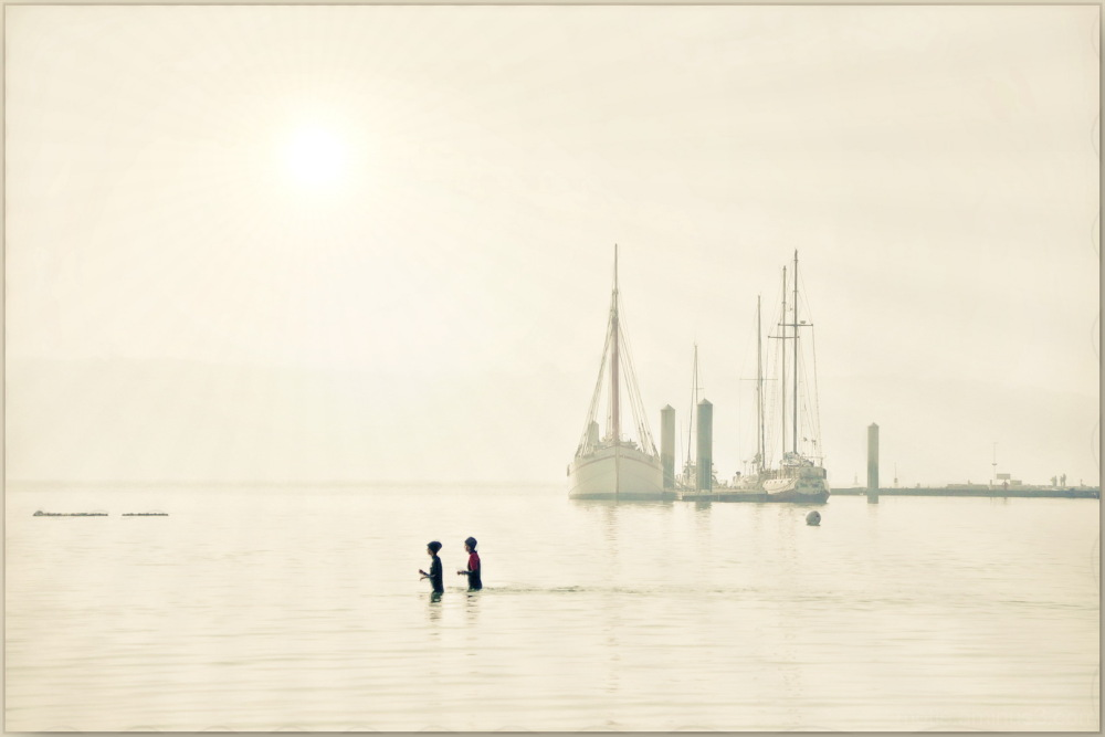 Un WE à la mer...Aqua-marche.