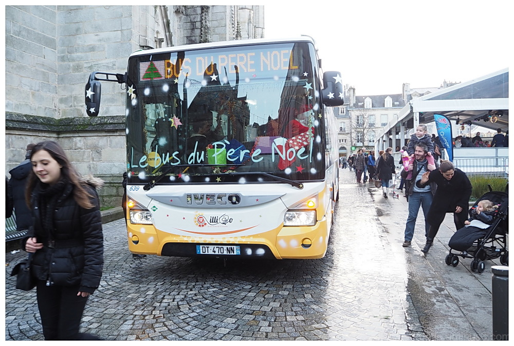 SanTa Claus ' Bus