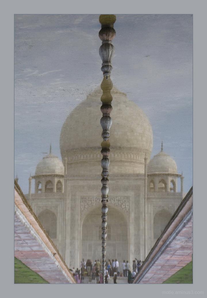 Taj Mahal mirror
