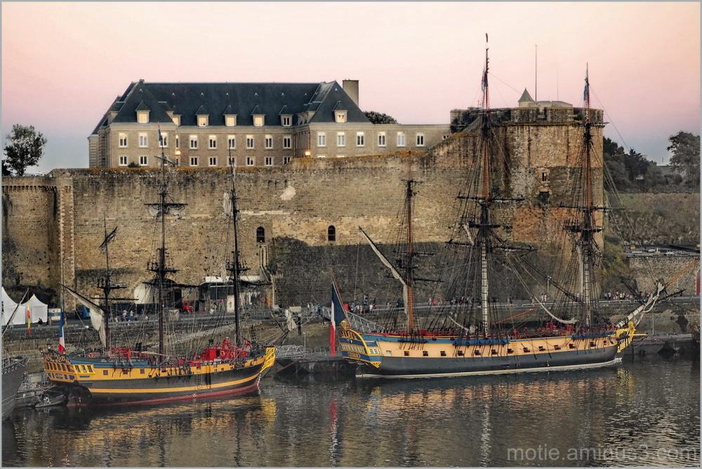 Brest, les fêtes maritimes
