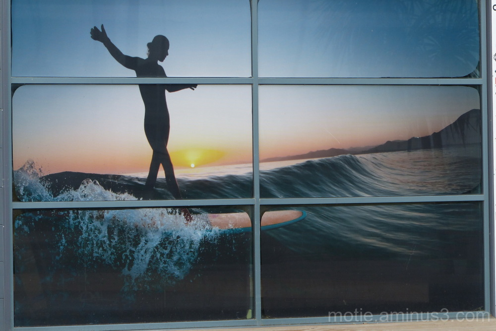 Surf reflection
