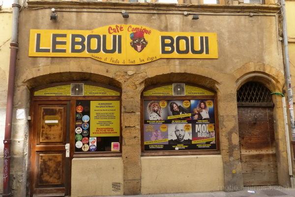 Escapade à Lyon/ Le boui boui