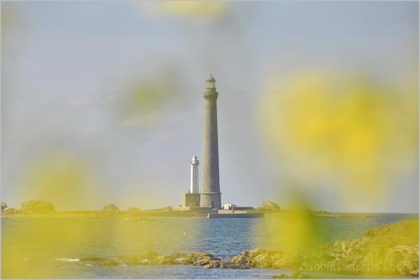 Le phare de l'île Vierge...