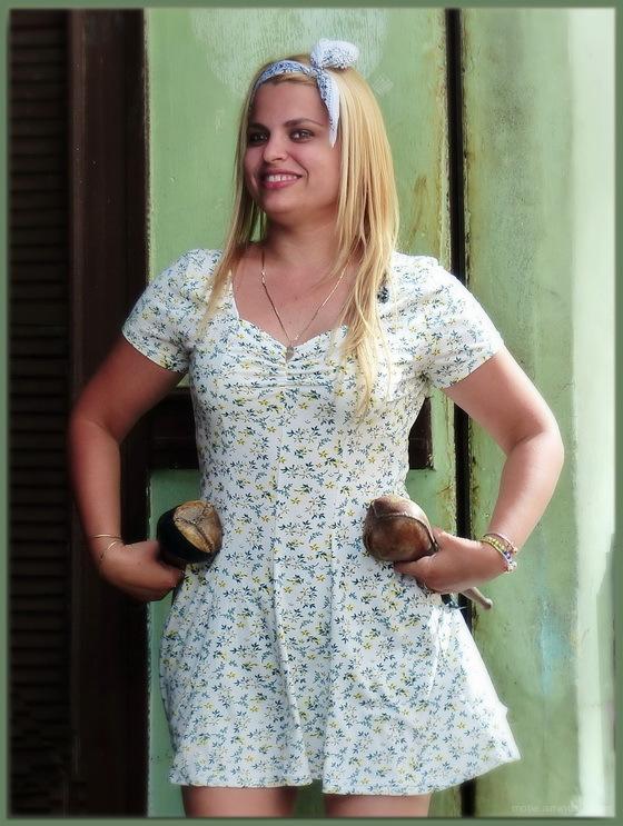Maracas traditionnelles à Cuba