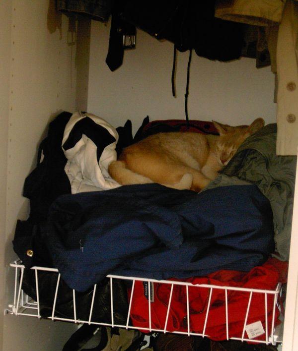 Rasmus i garderoben