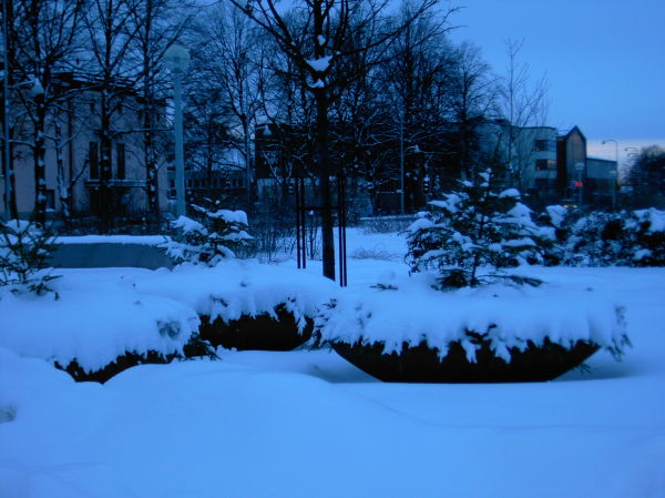 Vinter i Eskilstuna