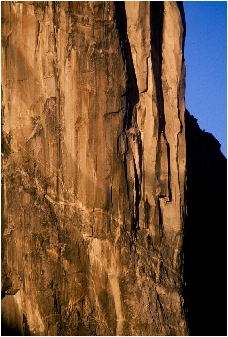 "El Capitan Yosemite ""close up"""