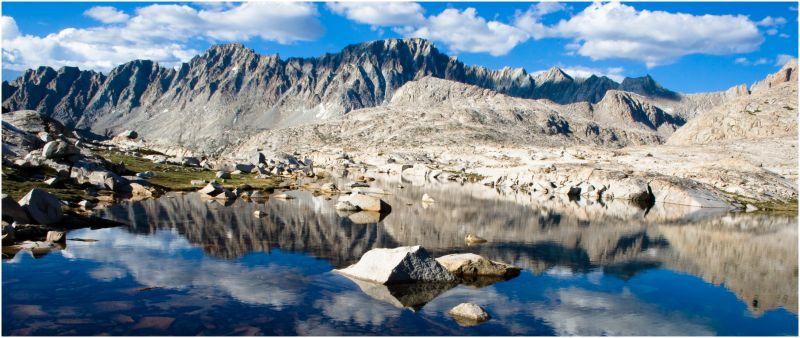 """John Muir Trail"" ""Evolution Basin"""