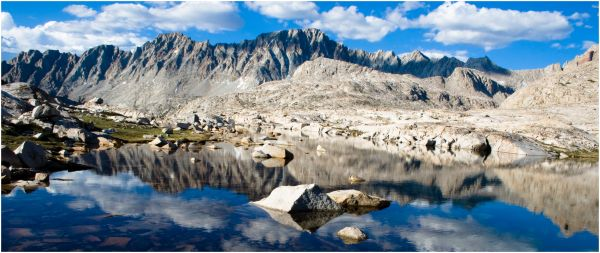 """John Muir Trail"" ""Evolution Basin"""