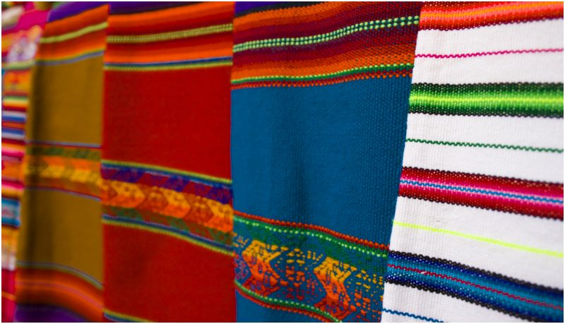 Cloth at market, Santa Fe
