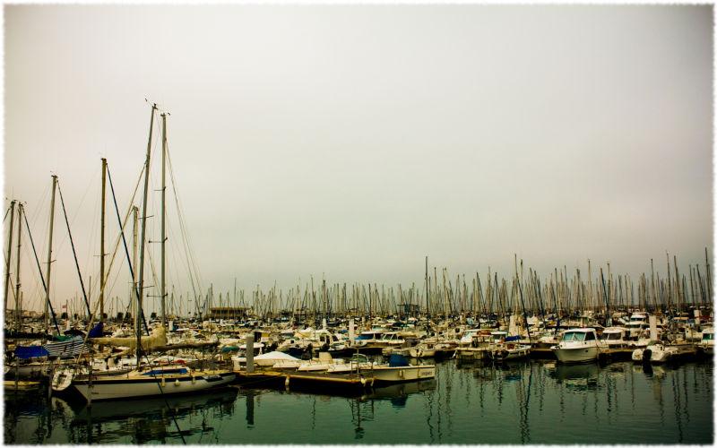 Les bateaux hisse et haut