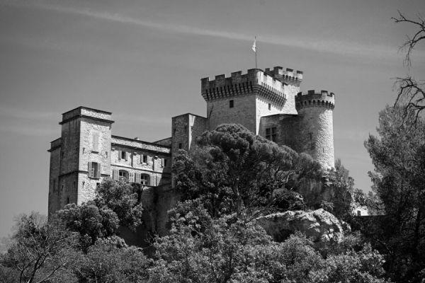 le château de la Barben