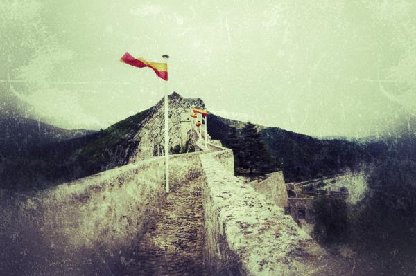 les rampartds de la citadelle