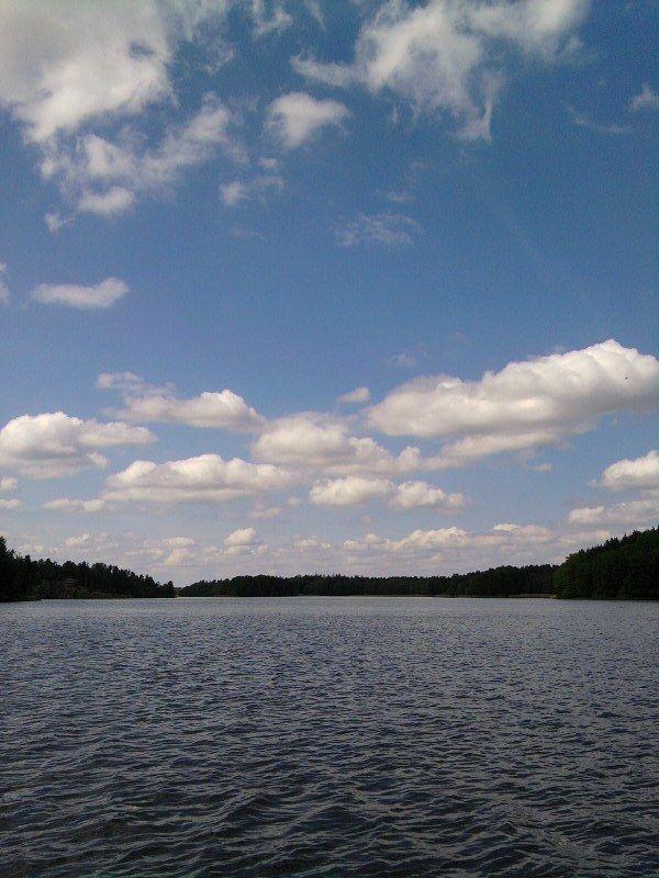 sjön in till flen