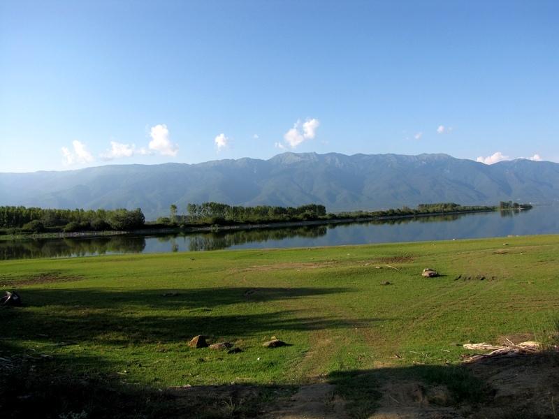 Lake kerkini in Serres, Greece