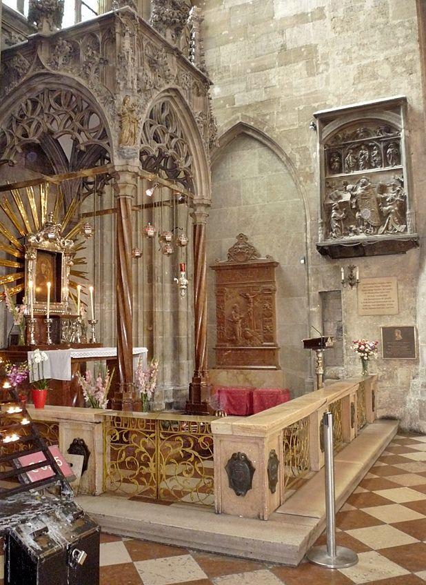 Stephansdom - Cathedral in Vienna/Wien