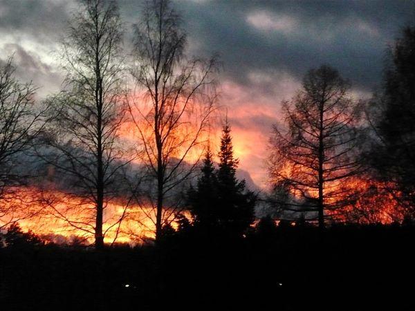 Sky ''in fire''
