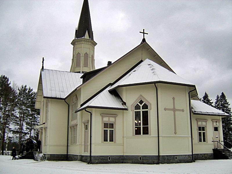 The church in Vieki