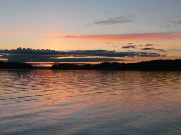 The lake from Joensuu-Finland