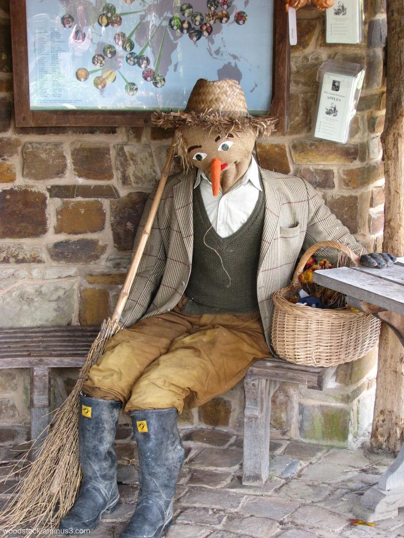 Scarecrow Takes A Break