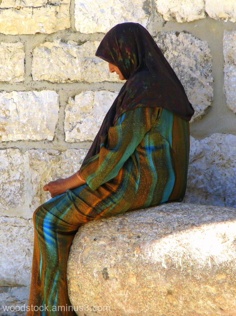 Lady Haifa Israel