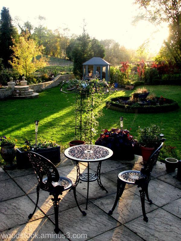 An autumn evening.