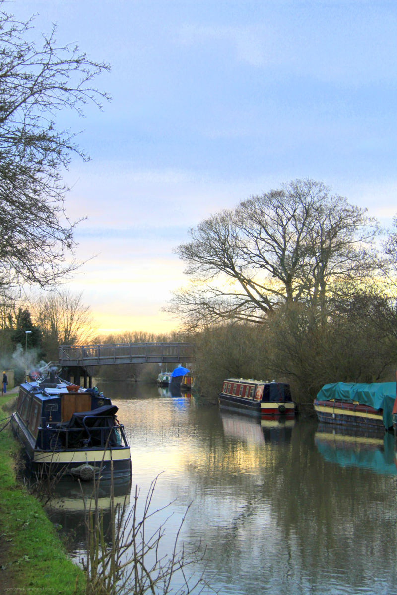 The Kennet and Avon Canal - Newbury 1 of 4