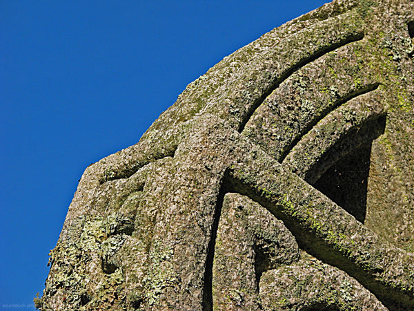 Detail - Celtic Cross at St Just