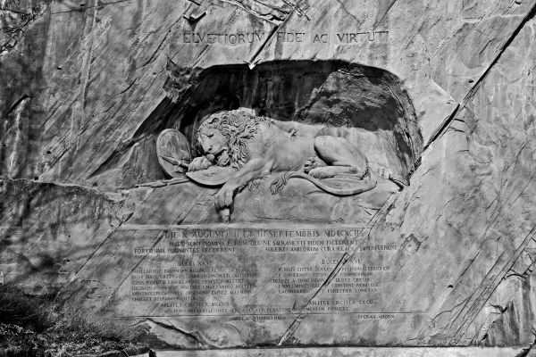Lion of Lucerne 1 of 2