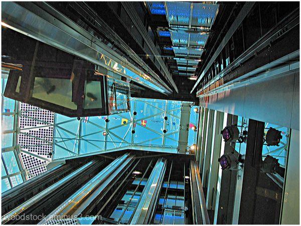 The Atrium onboard Celebrity Eclipse