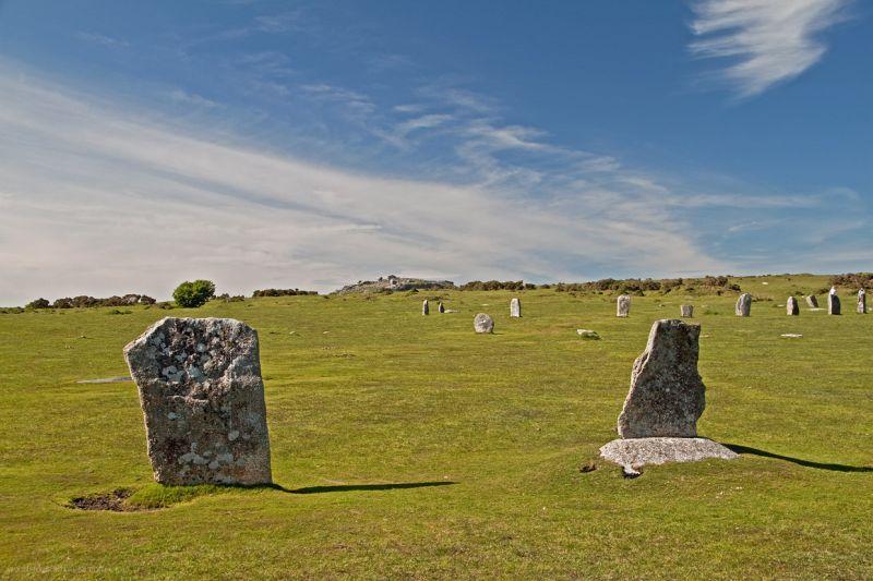 Stone Circles Minions Cornwall