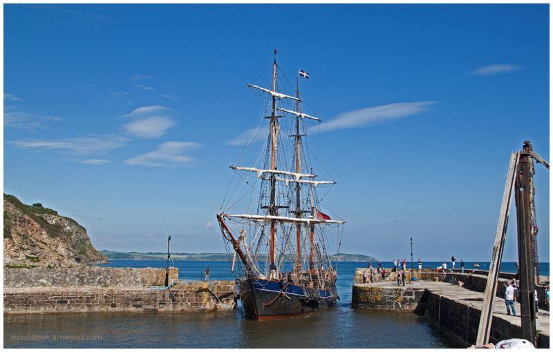 Tall Ship - Charlestown, Cornwall
