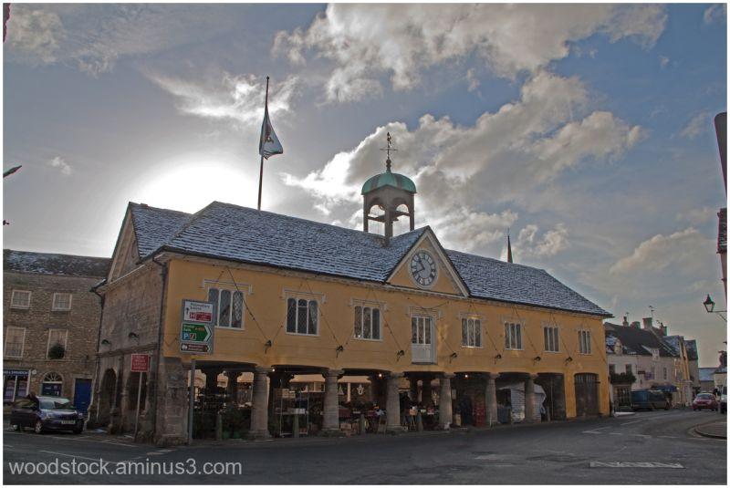 The Market Hall in Tetbury